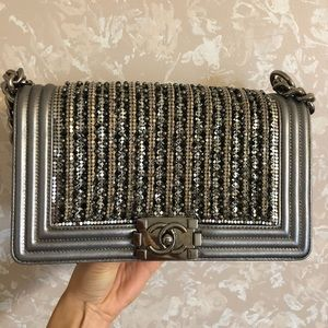 Chanel Limited Edition Jeweled-Crystals Bag